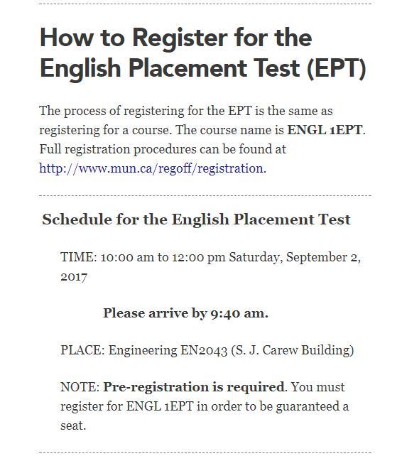 2017秋季学期EPT注册方法