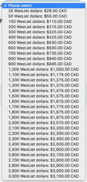 身居加国巧用Westjet Dollar省钱出行