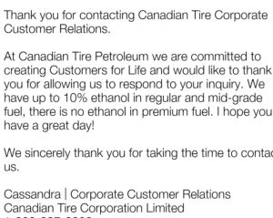 Canadian Tire礼品卡及积分项目上手